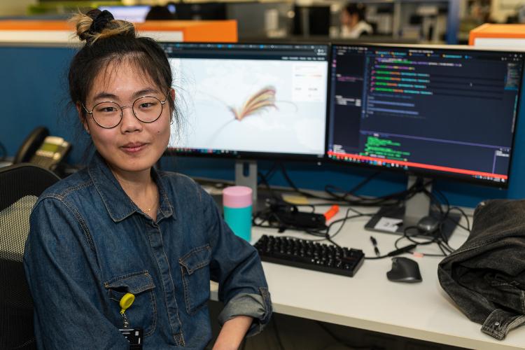 Graduate Developer Daphne Yu