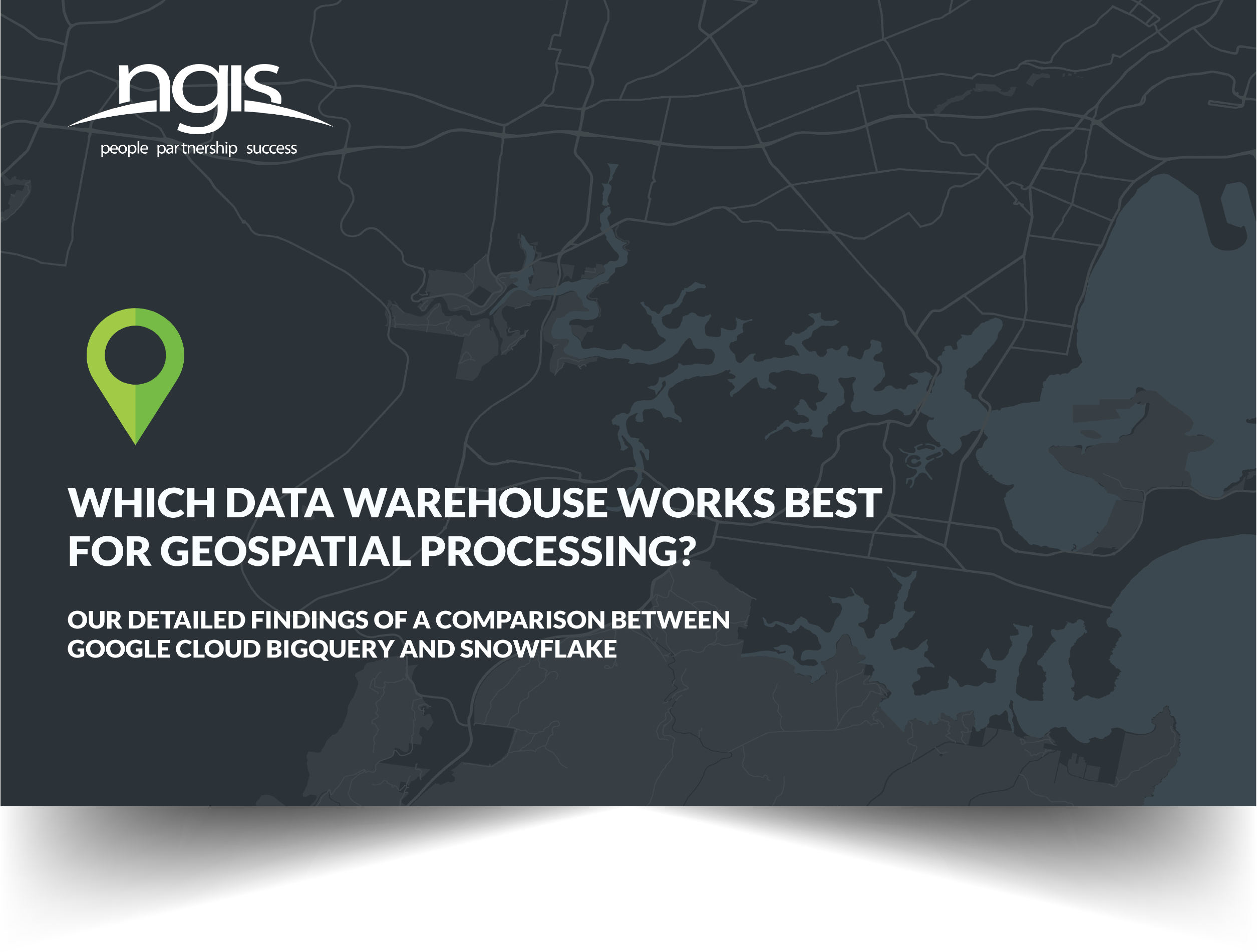 What Cloud data warehouse is best for geospatial processing?